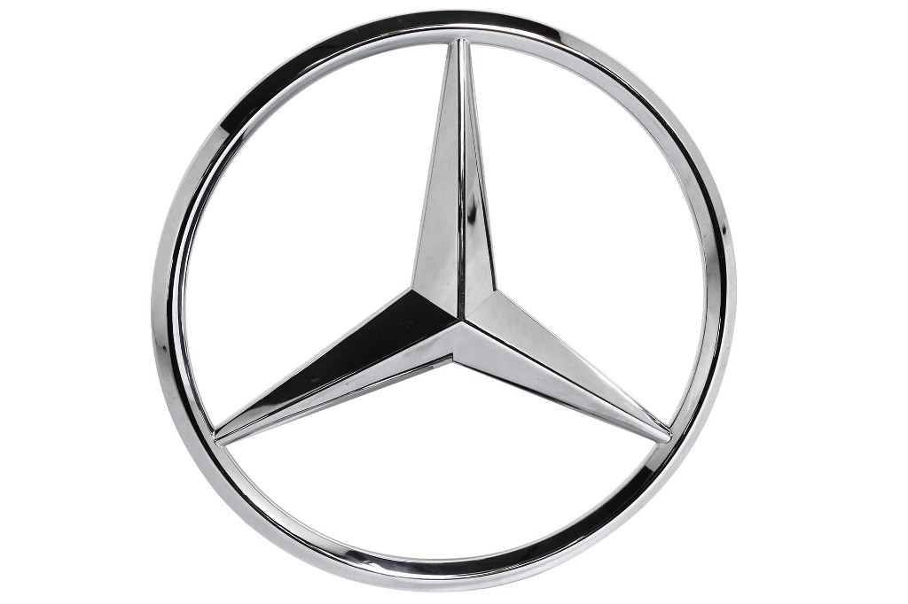 mercedes benz original stern emblem k hlergrill. Black Bedroom Furniture Sets. Home Design Ideas