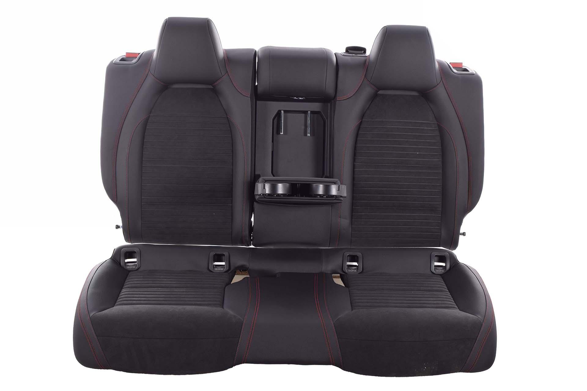 Sitzbezug klimatisierend schwarz für Mercedes CLA CLA-Klasse C117 Coupé 4-türer