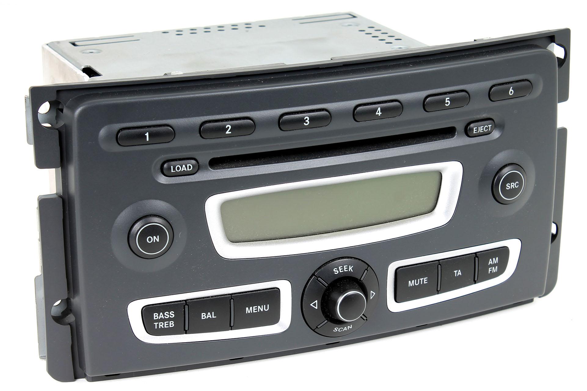 smart radio mit 6 fach cd wechsler a4518203679 mp3. Black Bedroom Furniture Sets. Home Design Ideas