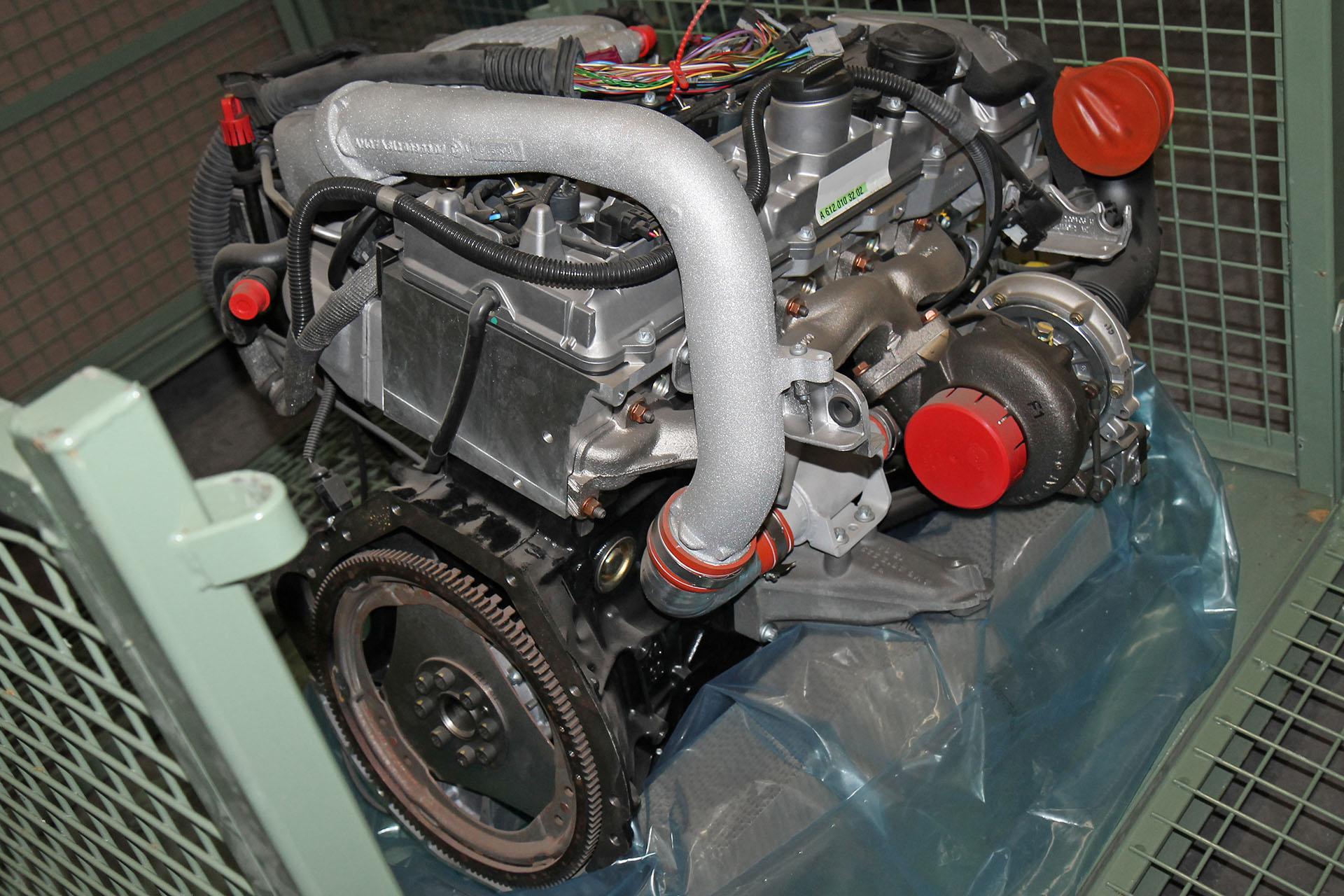 Mercedes-Benz original C-Klasse 203 Motor Diesel C 30 CDI AMG 170 kW ...